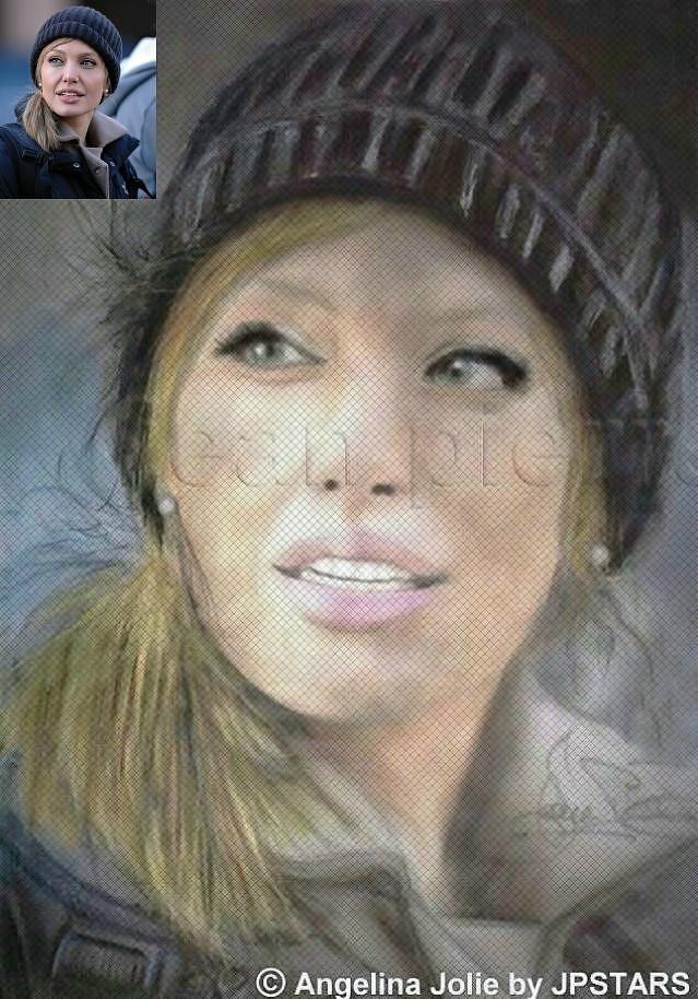 Angelina Jolie by JPSTARS